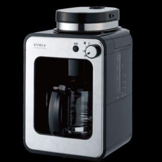 日本 siroca crossline自動研磨咖啡機 SC-A1210S