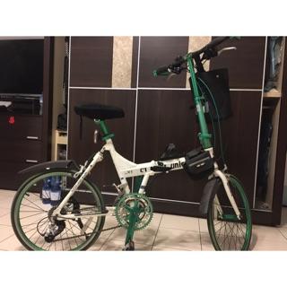 MEXLLER 麥思樂 UNICORN U1 台灣微轉27速鋁合金折疊車 綠色 小折 腳踏車