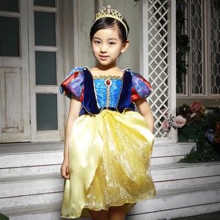 豪華精緻手工款白雪公主洋裝/套裝兒童