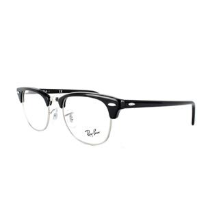 Rayban 雷朋 復古眉架 RB5154 2000 黑色銀色膠框