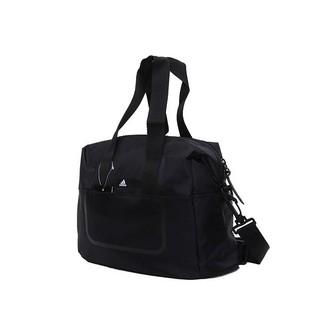S G Adidas Logo Bag 黑白小Logo 托特包側背包旅行包兩用大容量男女B