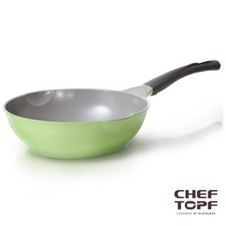 Chef Topf 薔薇系列28公分不沾炒鍋(無蓋)