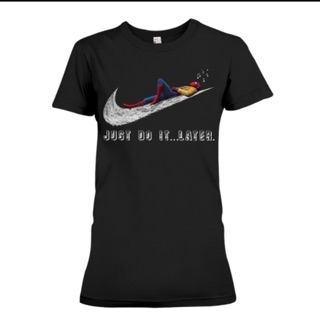 NIKE 蜘蛛人Tee. Just do it  later.  女版 限量款