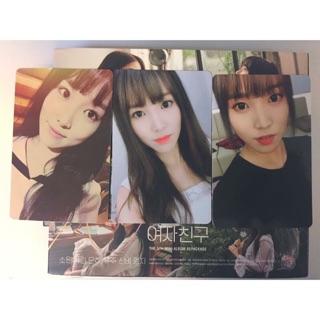 換 Gfriend 女友 迷你五輯改版專輯 小卡 yuju 裕珠