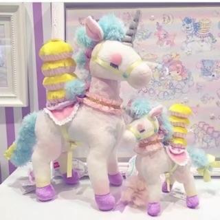 日本Econeco 繪子貓 夢幻遊樂園 獨角獸 絨毛 娃娃 預購