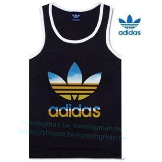 快乾透氣,吸濕排汗 現貨ADIDAS愛迪達運動背心男生運動健身無袖T恤 籃球背心健身時尚慢跑背心