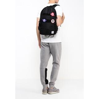 什麼魚 Reebok Classic Game Backpack 徽章 後背包 包包 黑 CE0607 Bag