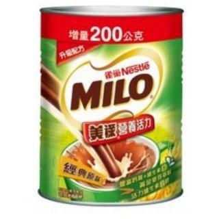 雀巢美祿經典原味巧克力麥芽罐裝  1.7kg