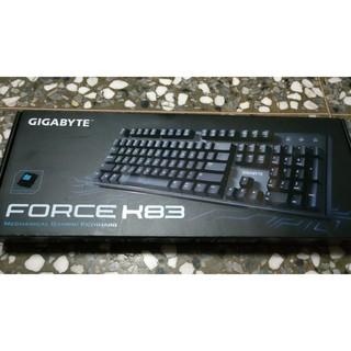 技嘉 GIGABYTE FORCE K83機械式遊戲鍵盤 青軸