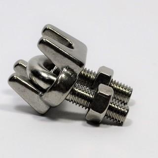 不鏽鋼 鋼索夾 規格:2mm~10mm 量大另議
