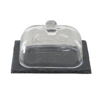 千層蛋糕甜點點心餐點透明罩西餐牛排懷石料理麵包壽司裝飾盤子 2697b