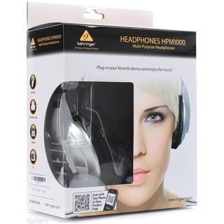 德國BEHRINGER HPM-1000 百靈達 耳朵牌 錄音監聽 樂器 mp3 耳機 HPM1000