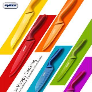 Zyliss紅色廚師刀(大)·zyliss藍色日式廚師刀(小)