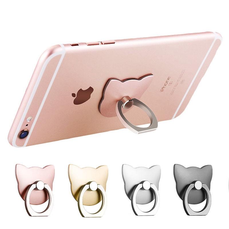 【現貨】貓型金屬多功能手機指環 可重複使用 防滑 防手機摔落 各品牌 手機 S7 Sony iPhone iPad 三星