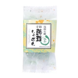 【TSH雜貨鋪】(現貨)日本京都限定 蒟蒻石鹼(抹茶)/蒟蒻香皂/洗臉皂/konnyaku-shabon/日本代購