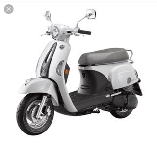 [自售]Kymco 光陽 白色many美女110(103年購入)機車 摩托車