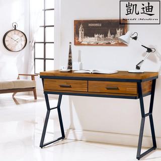 【凱迪家具】V15-470-3 工業風3.5尺書桌/大雙北市區滿五千元免運費