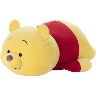 [MIKA日本代購][新品] Mocchi Mocchi 小熊維尼 趴趴款 M號 迪士尼 絨毛 玩偶 抱枕