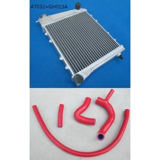 1967-1991 老咪 MINI AUSTIN 1.0 專用全鋁 加厚雙排水箱 矽膠水管組