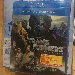 變形金剛 5 日本限量TLK Ex 藍光DVD