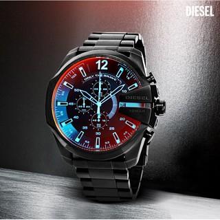 正品Diesel迪賽手錶DZ4318 酷炫紅偏光大錶盤男手錶 DZ4323 非 Gucci ck Casio卡西歐
