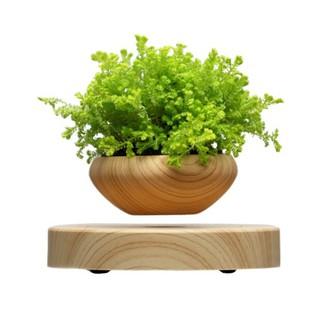 磁懸浮盆栽自轉花盆.