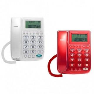 SAMPO聲寶 來電顯示有線電話 HT-W1310L 色、白色 HTW1310L
