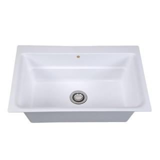 【IDEE】S-780 亞特蘭人造石 廚房水槽。陽台水槽。洗衣槽。洗衣板+水槽。水槽 ~ 城市villa生活 ~ 台灣製