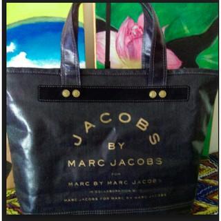 美國名牌 MARC by Marc Jacobs 牛仔防水 托特包 購物包 肩背包