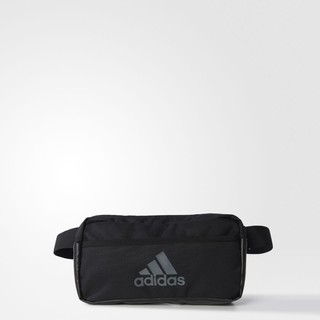 10/23 現貨 ADIDAS 3S PERFORMANCE WAISTBAG 黑色 LOGO 小腰包 AK0014