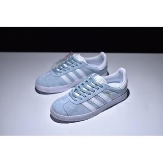 Adidas Gazelle 淺藍白