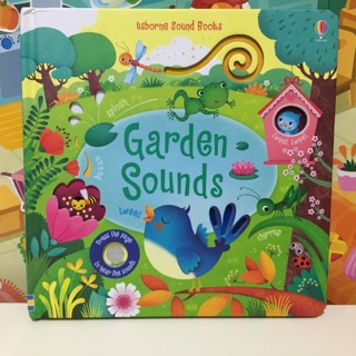 ✨ Touchy Feely Sound Books Garden Sounds 硬
