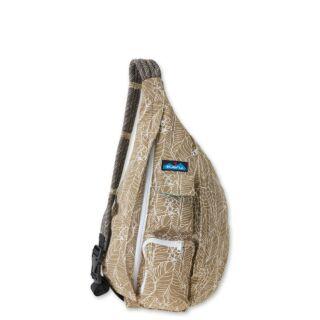 西雅圖 KAVU Rope Bag 休閒肩背包- 蒲葵葉