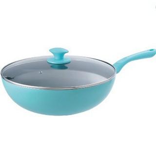 Dashiang蒂芬妮單把深炒鍋32cm DS-B48-32 不沾鍋 炒菜鍋