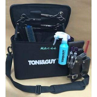 咚咚托尼蓋美髮工具包美髮工具箱剪刀包髮型師專用挎包可放吹風