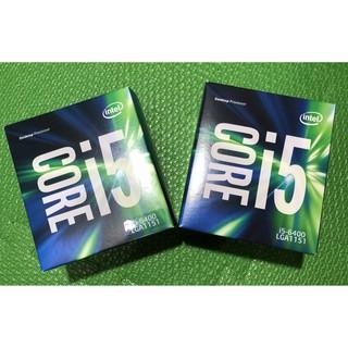全新 INTEL I5-6400 六代 LGA1151 (I5 6400 I5 7400 可參考)
