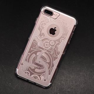Moxbii iPhone 7 plus 極空戰甲光雕保護殼 匠心工藝