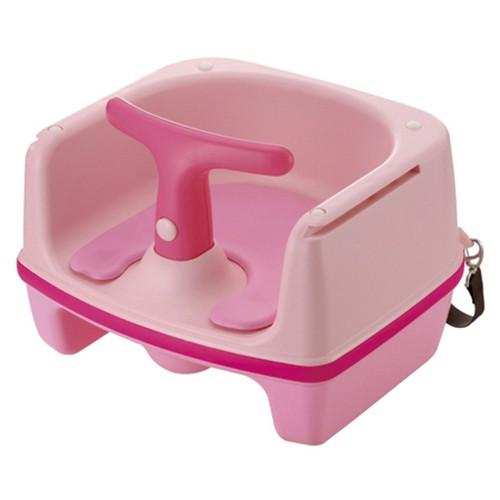 @小櫻桃嬰兒用品@利其爾Richell--雙向兩用椅 餐椅【粉色】
