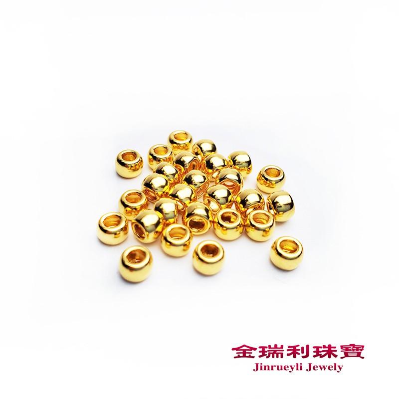 金瑞利珠寶9999純金金珠0.02錢3mm