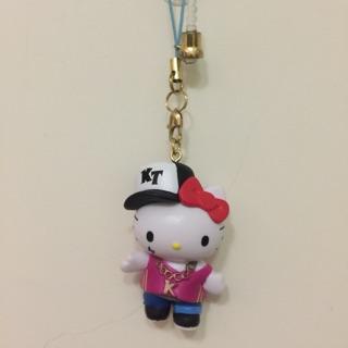 Kitty 凱蒂貓 手機塞 吊飾 鑰匙圈 嘻哈風