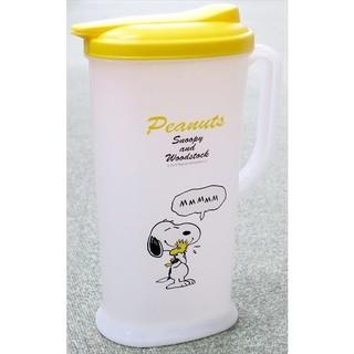 日本 SNOOPY 史努比 塑膠冷水壺 冷水瓶 2L