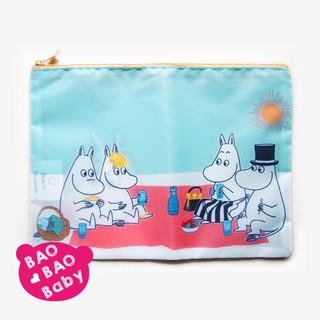 BAOBAOBABY日本Moomin嚕嚕米一家的春季野餐收納包 收納袋 化妝包 手機包  亞美 米妮小不點