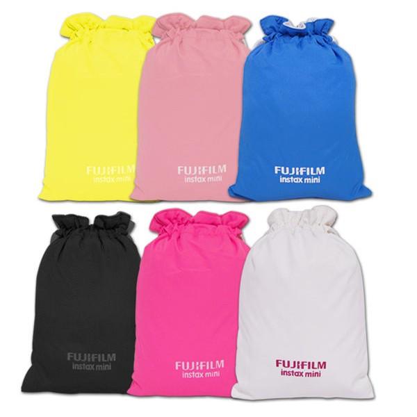 FUJIFILM mini 原廠 拍立得專用 束口袋 相機袋 適用 mini 7s、8、25、50s、90、70、SP1