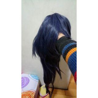 no.6/未來都市/老鼠假髮/灰藍色/馬尾假髮/60cm/cosplay/cos假髮
