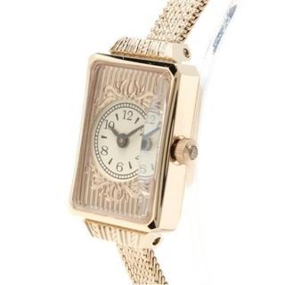ⓥⓓⓜ☪日本輕珠寶agete絕版復古懷錶雕花玫瑰金手錶/女錶   花猴推薦非流蘇錶