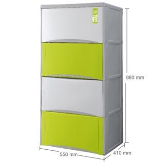 「高尚直營」免運中福氣四層抽屜櫃 HOUSE 好室喵置物櫃 整理箱 衣物