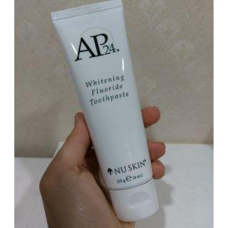 全新 NU SKIN AP-24潔白牙膏(白蓋)