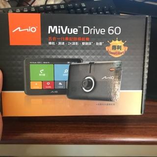 mio drive 60 行車紀錄器 6.2吋導航
