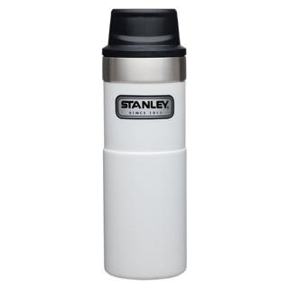 Stanley 時尚2.0單手保溫咖啡杯473ml-簡約白 全新 有公司白色logo 不明顯