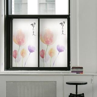 定制靜電磨砂玻璃貼移門浴室廚房玻璃無膠靜電玻璃貼膜貼紙窗花紙防曬浴室窗紙墻壁裝飾壁紙壁貼墻貼窗貼居家裝飾